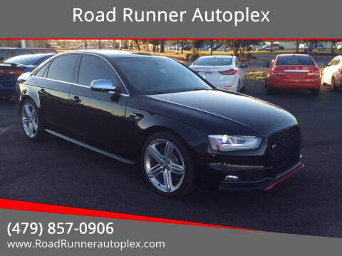 2013 Audi S4 for sale at Road Runner Autoplex in Russellville AR