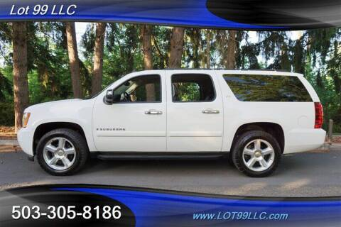 2008 Chevrolet Suburban for sale at LOT 99 LLC in Milwaukie OR