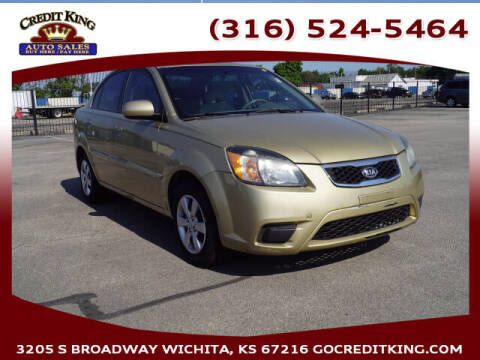 2011 Kia Rio for sale at Credit King Auto Sales in Wichita KS