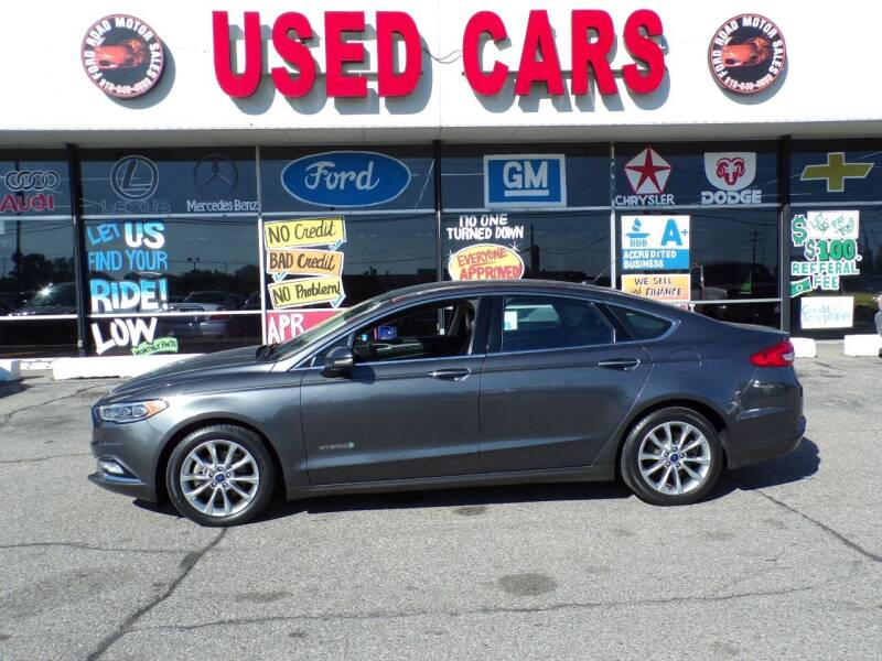 2017 Ford Fusion Hybrid for sale at Ford Road Motor Sales in Dearborn MI