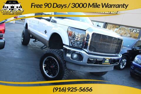 2011 Ford F-250 Super Duty for sale at West Coast Auto Sales Center in Sacramento CA