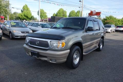 2000 Mercury Mountaineer for sale at Leavitt Auto Sales and Used Car City in Everett WA