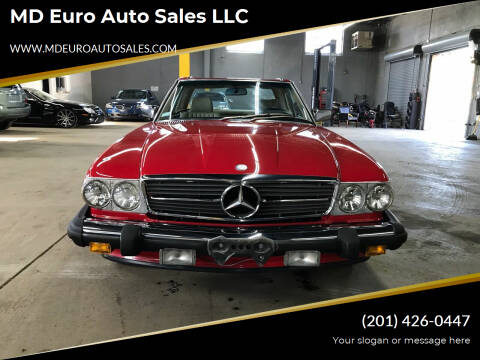 1989 Mercedes-Benz 560-Class for sale at MD Euro Auto Sales LLC in Hasbrouck Heights NJ