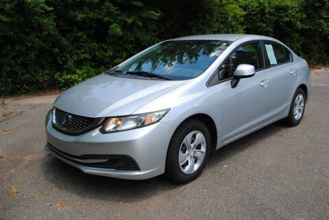 2013 Honda Civic for sale at Byrds Auto Sales in Marion NC