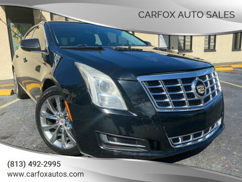 2013 Cadillac XTS for sale at Carfox Auto Sales in Tampa FL
