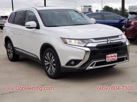 2019 Mitsubishi Outlander for sale at DON HERRING MITSUBISHI in Irving TX