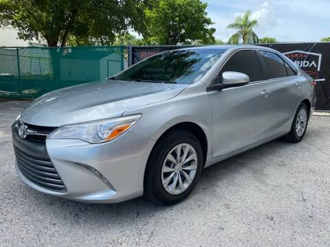 2017 Toyota Camry for sale at Florida Automobile Outlet in Miami FL