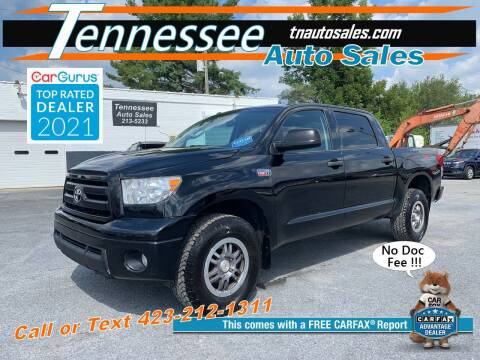 2013 Toyota Tundra for sale at Tennessee Auto Sales in Elizabethton TN