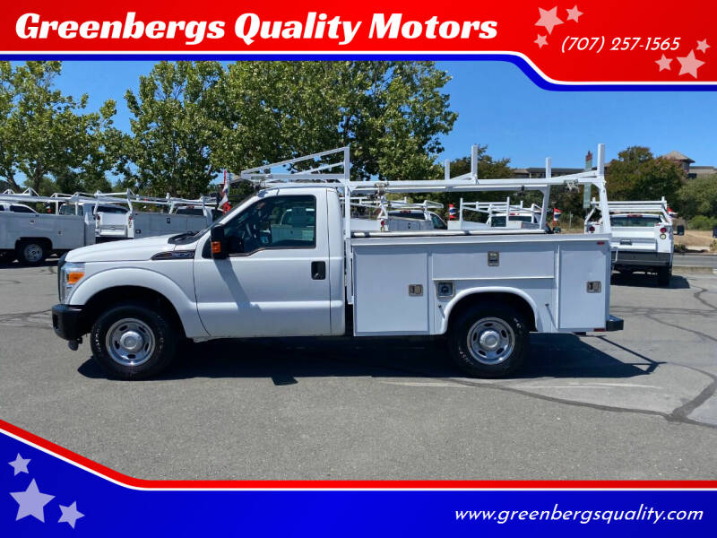 2012 Ford F-350 Super Duty for sale at Greenbergs Quality Motors in Napa CA