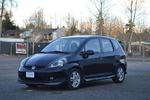 2008 Honda Fit for sale at Skyline Motors Auto Sales in Tacoma WA