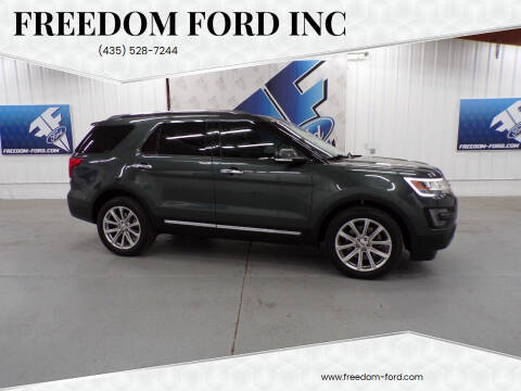 2016 Ford Explorer for sale at Freedom Ford Inc in Gunnison UT