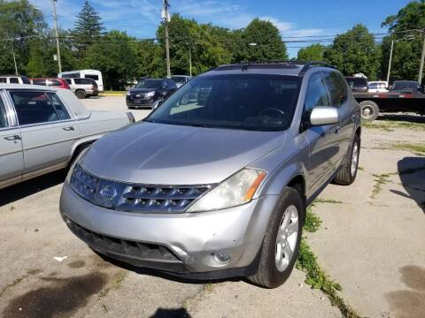 2005 Nissan Murano for sale at D & D All American Auto Sales in Mt Clemens MI