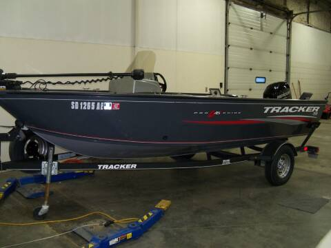 2018 Tracker PRO GUIDE 16 SC for sale at Tyndall Motors in Tyndall SD