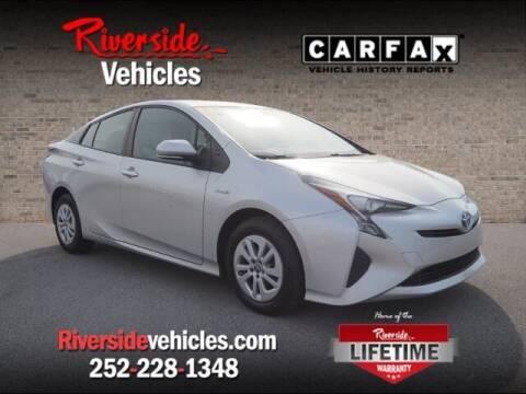 2016 Toyota Prius for sale at Riverside Mitsubishi(New Bern Auto Mart) in New Bern NC