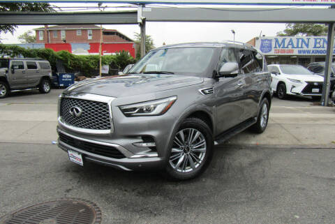 2019 Infiniti QX80 for sale at MIKEY AUTO INC in Hollis NY