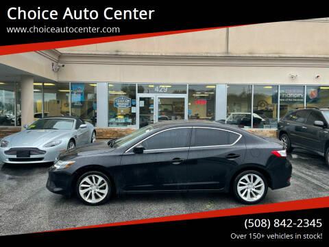 2018 Acura ILX for sale at Choice Auto Center in Shrewsbury MA