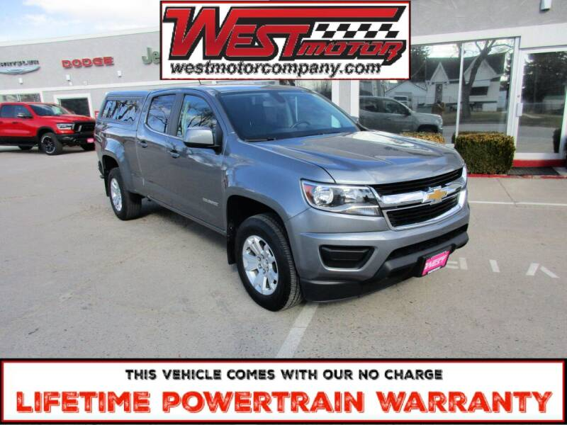 2018 Chevrolet Colorado for sale at West Motor Company in Hyde Park UT