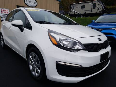 2016 Kia Rio for sale at W V Auto & Powersports Sales in Cross Lanes WV