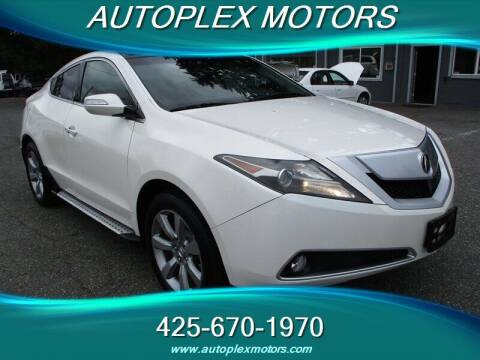 2010 Acura ZDX for sale at Autoplex Motors in Lynnwood WA