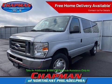 2010 Ford E-Series Wagon for sale at CHAPMAN FORD NORTHEAST PHILADELPHIA in Philadelphia PA