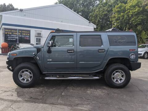 2005 HUMMER H2 for sale at GREAT DEALS ON WHEELS in Michigan City IN