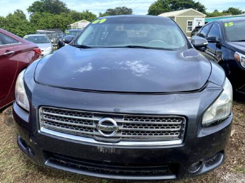 2009 Nissan Maxima for sale at ROCKLEDGE in Rockledge FL