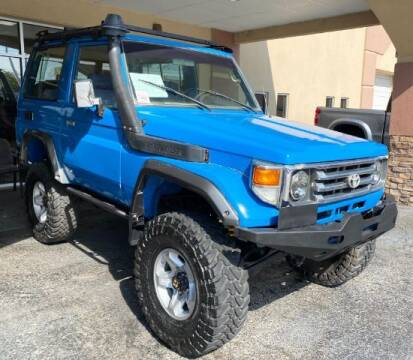 1988 Toyota Land Cruiser for sale at Adams Auto Group Inc. in Charlotte NC