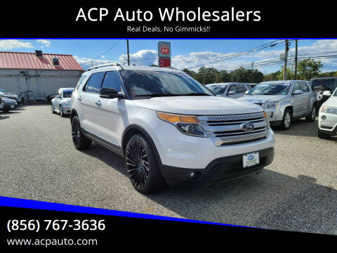 2013 Ford Explorer for sale at ACP Auto Wholesalers in Berlin NJ