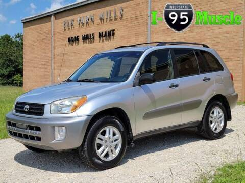 2002 Toyota RAV4 for sale at I-95 Muscle in Hope Mills NC