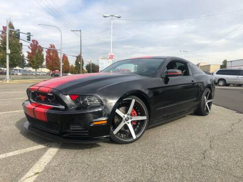 2014 Ford Mustang for sale at ALHAMADANI AUTO SALES in Spanaway WA