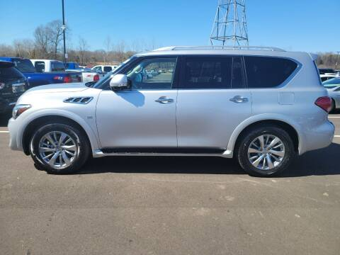 2016 Infiniti QX80 for sale at A-1 AUTO AND TRUCK CENTER in Memphis TN
