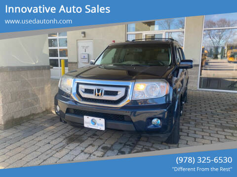 2011 Honda Pilot for sale at Innovative Auto Sales in North Hampton NH