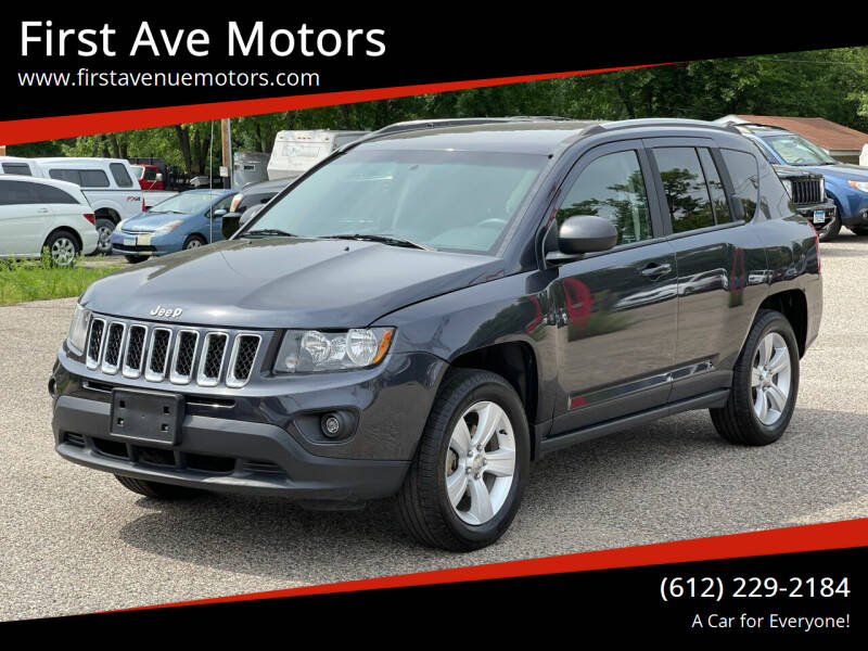 2015 Jeep Compass for sale at First Ave Motors in Shakopee MN