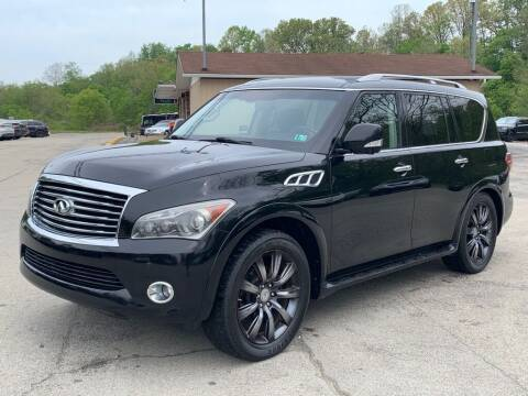 2012 Infiniti QX56 for sale at Elite Motors in Uniontown PA