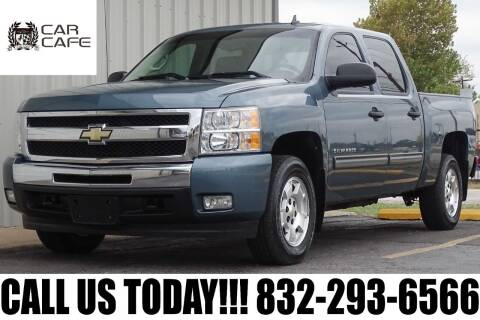 2011 Chevrolet Silverado 1500 for sale at CAR CAFE LLC in Houston TX