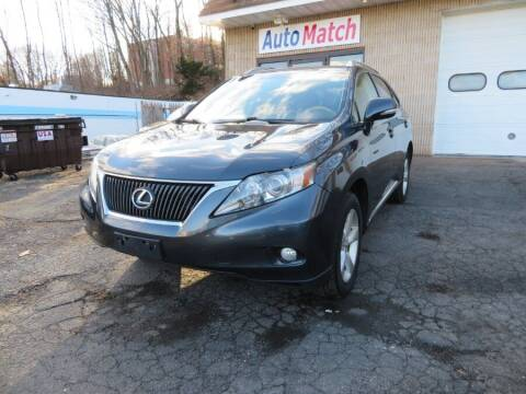 2011 Lexus RX 350 for sale at Auto Match in Waterbury CT