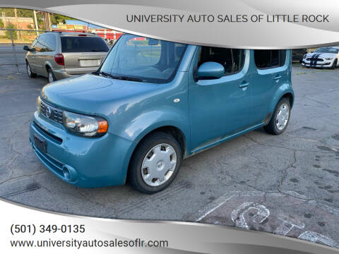 2011 Nissan cube for sale at University Auto Sales of Little Rock in Little Rock AR