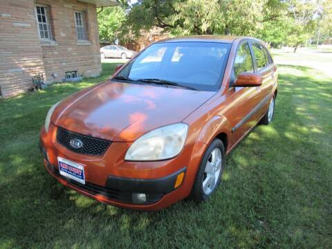 2007 Kia Rio5 for sale at Lake County Auto Sales in Painesville OH