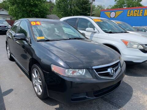 2004 Acura TSX for sale at Eagle Motors in Hamilton OH