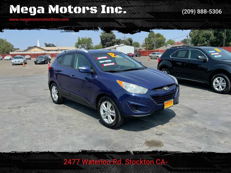 2012 Hyundai Tucson for sale at Mega Motors Inc. in Stockton CA