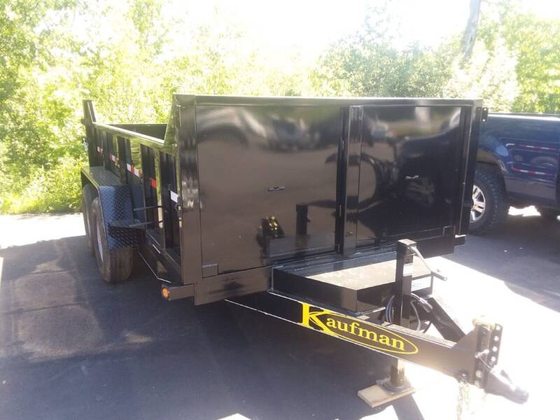 2021 Kaufman 7x12 Dump Trailer XS-12 for sale at Mascoma Auto INC in Canaan NH