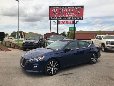 2019 Nissan Altima for sale at RAUL'S TRUCK & AUTO SALES, INC in Oklahoma City OK