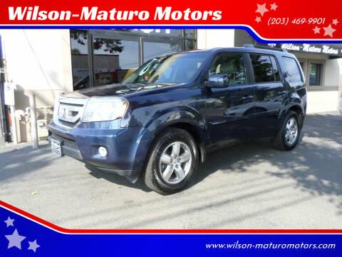2011 Honda Pilot for sale at Wilson-Maturo Motors in New Haven CT