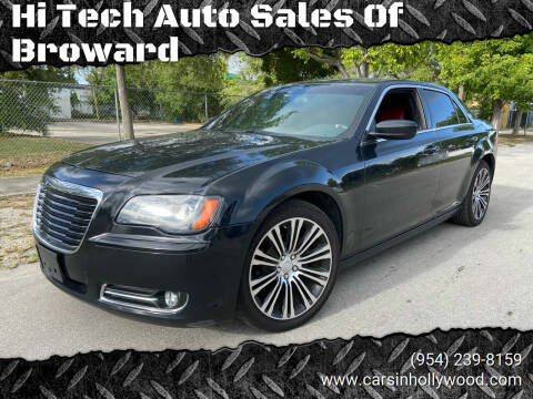 2014 Chrysler 300 for sale at Hi Tech Auto Sales Of Broward in Hollywood FL