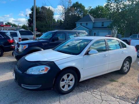2008 Chevrolet Impala for sale at Nelson's Straightline Auto - 23923 Burrows Rd in Independence WI