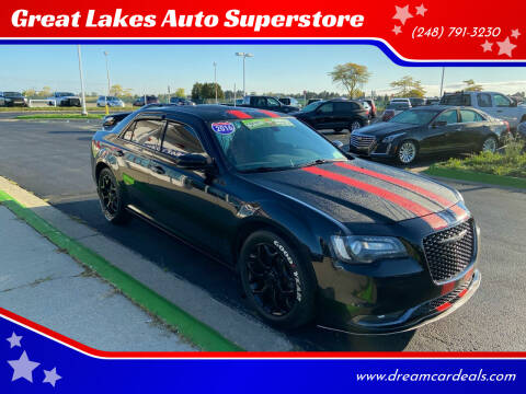 2016 Chrysler 300 for sale at Great Lakes Auto Superstore in Waterford Township MI