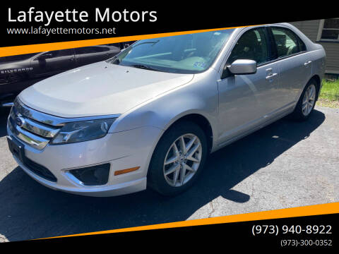 2012 Ford Fusion for sale at Lafayette Motors in Lafayette NJ