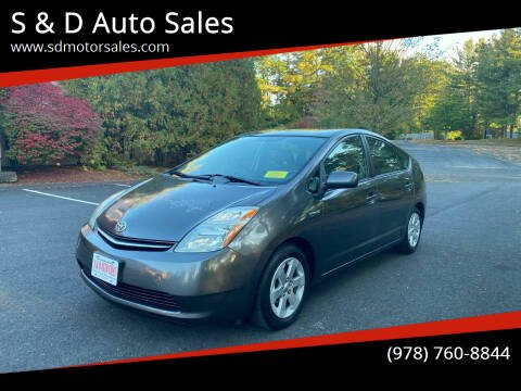 2008 Toyota Prius for sale at S & D Auto Sales in Maynard MA