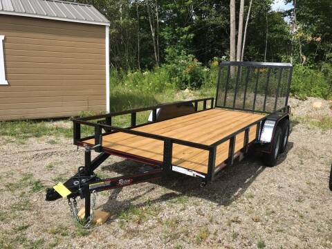2020 Rettig 6x16 Utility for sale at Greg's Auto Sales in Searsport ME