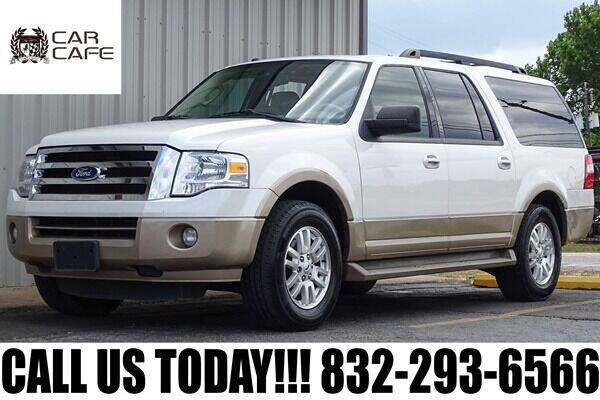 2013 Ford Expedition EL for sale at CAR CAFE LLC in Houston TX